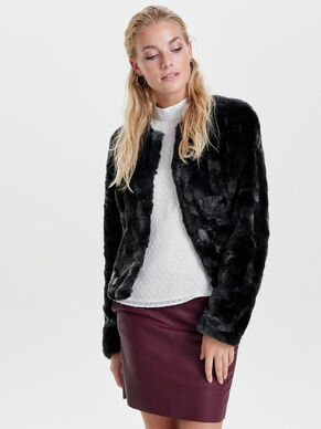 FUR LOOK JACKET