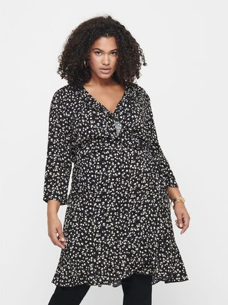 CURVY TUNIC WRAP DRESS