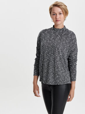 HIGHNECK LONG SLEEVED TOP