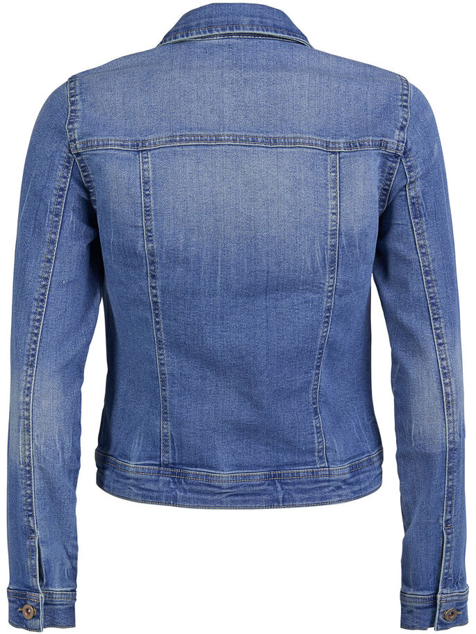 COOL DENIM JACKET, Medium Blue Denim, large