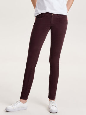 CARRIE LOW SKINNY FIT JEANS