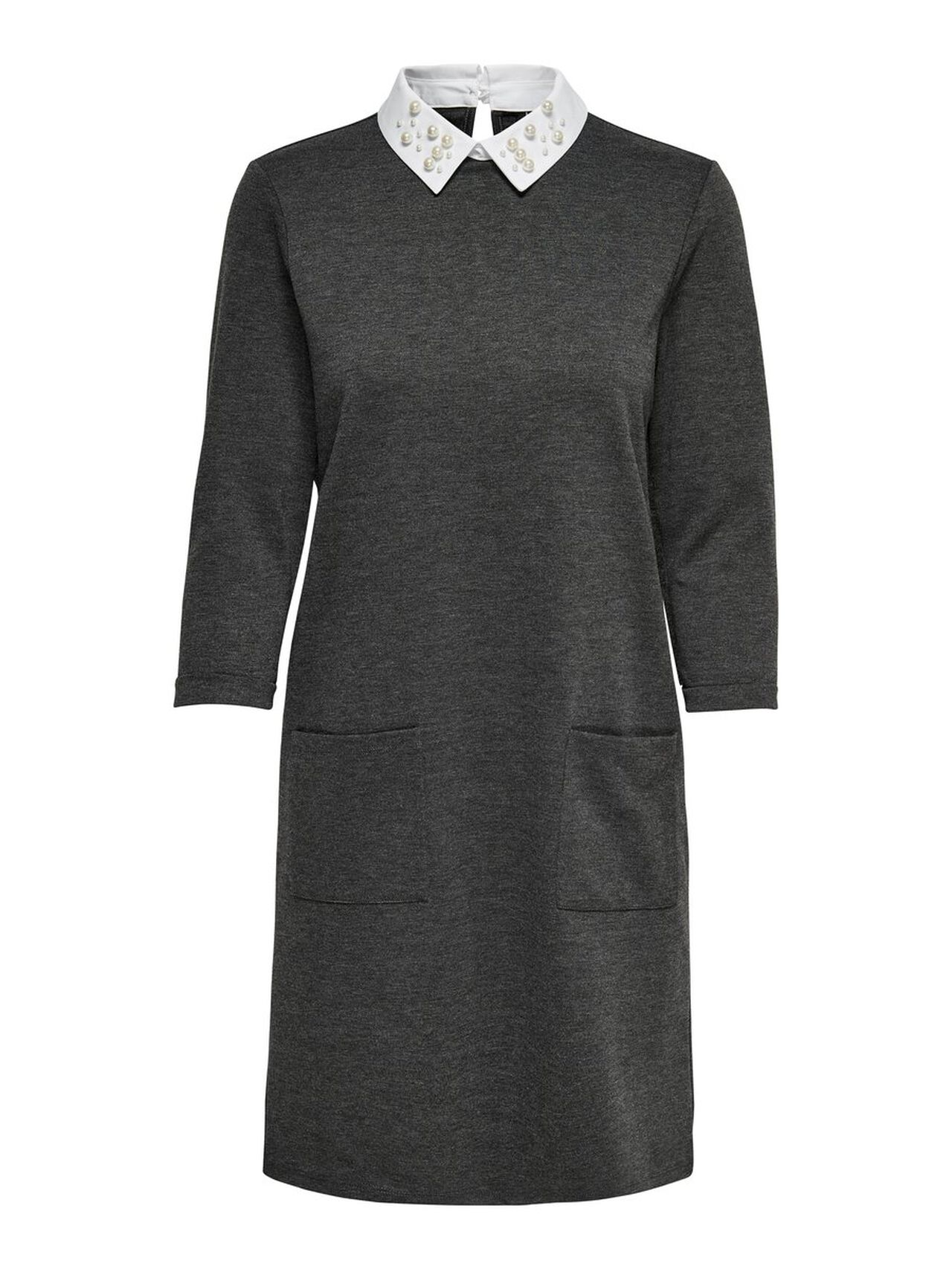 ONLY Collar Dress Women Grey