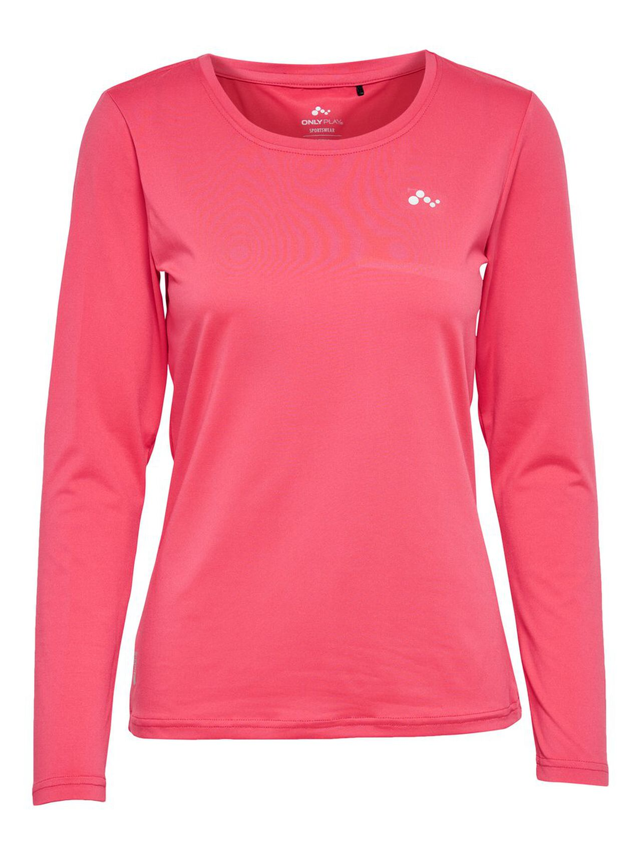 ONLY Long Sleeved Sports Top Women Pink