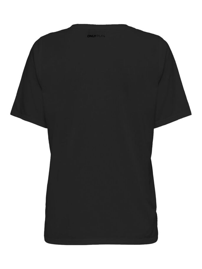 LOOSE FITTED TRAINING TOP, Black, large
