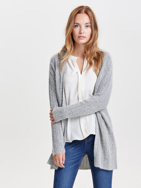 MANCHES LONGUES CARDIGAN EN MAILLE