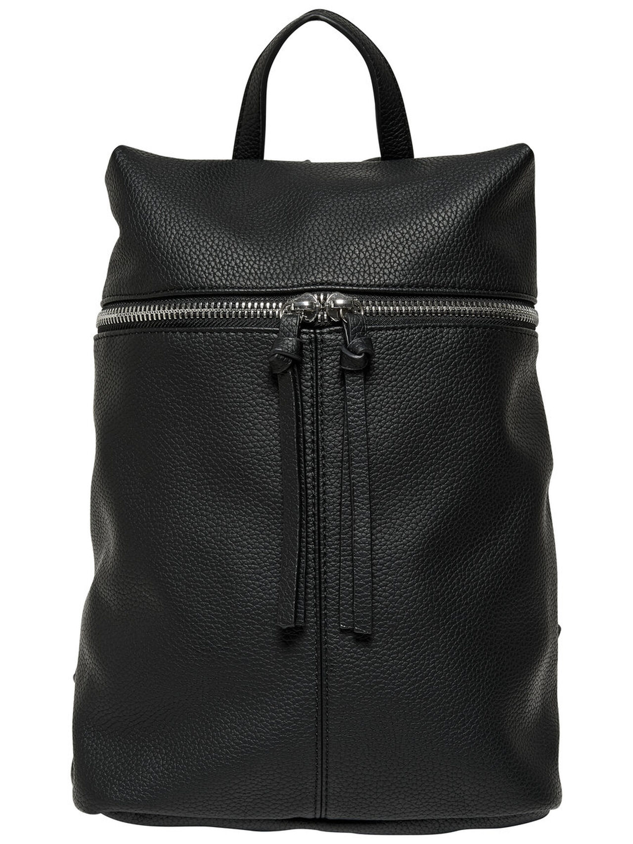 ONLY Leather Look Backpack Women Black