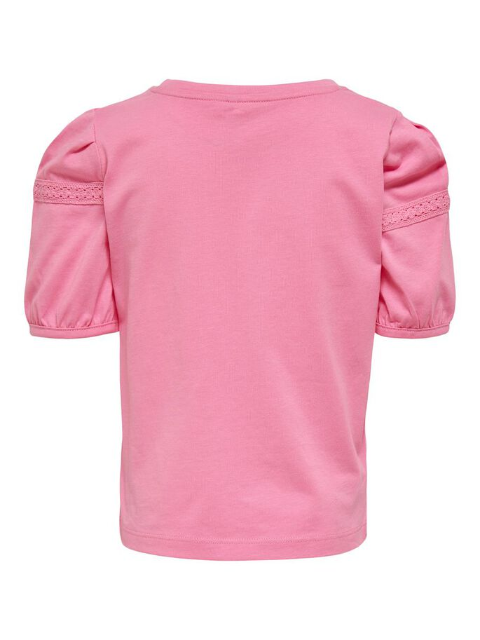 Pink Puff Short Sleeved Blouse