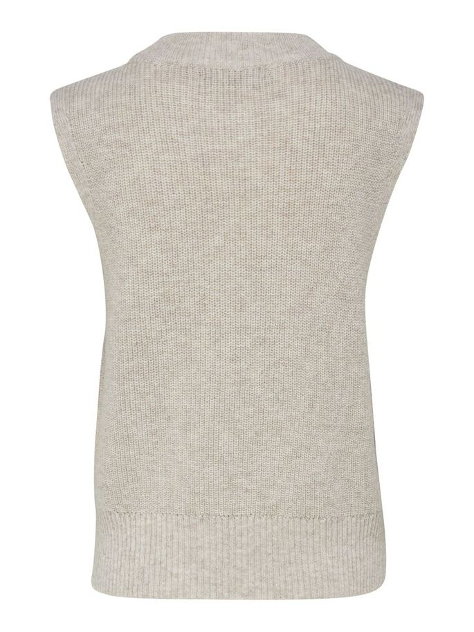 MAILLE GILET, Pumice Stone, large