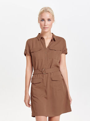 CARGO SHORT SLEEVED DRESS