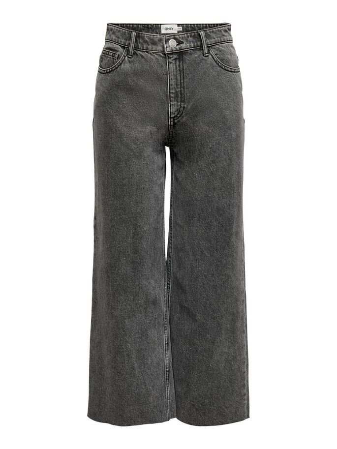 ONLSONNY LIFE HW CROPPED JEANS, Grey Denim, large