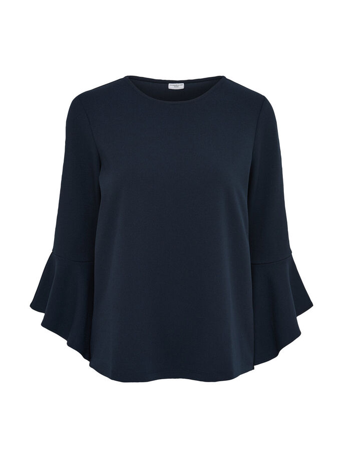LOOSE LONG SLEEVED TOP, Sky Captain, large
