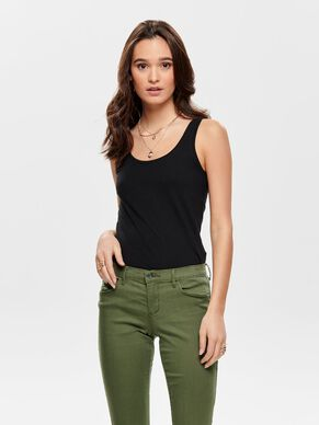 8249f22f0bfc92 Sleeveless tops   cami tops - Buy sleeveless tops from ONLY for ...