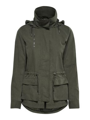 SHORT PARKA COAT 082501236e
