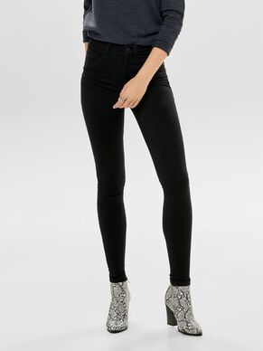 ROYAL HÖG MIDJA SKINNY FIT-JEANS