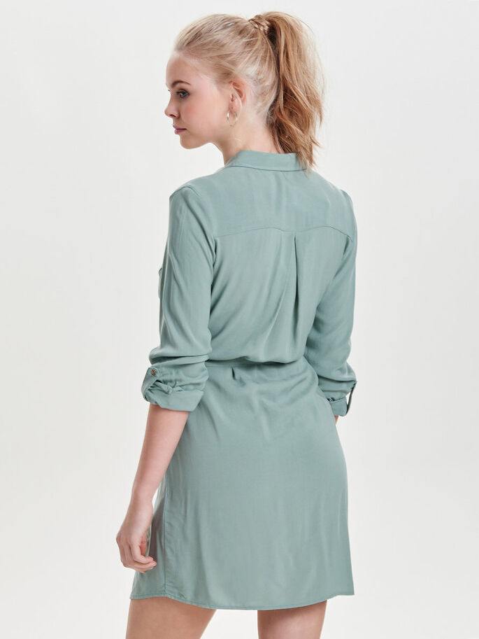 SHIRT DRESS, Chinois Green, large