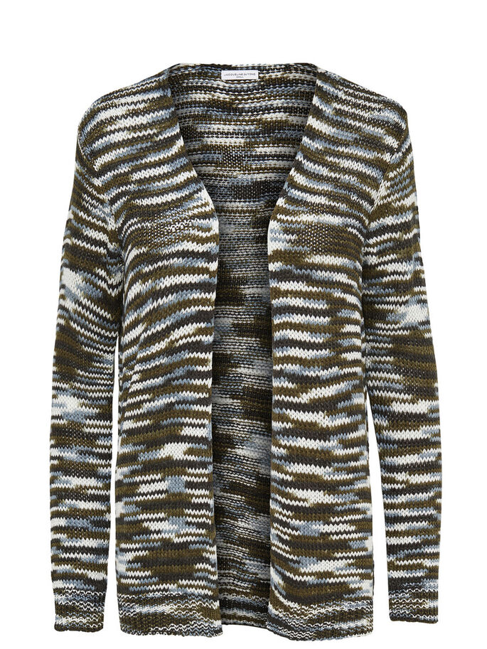 LANGÄRMELIGE STRICK-CARDIGAN, Black, large