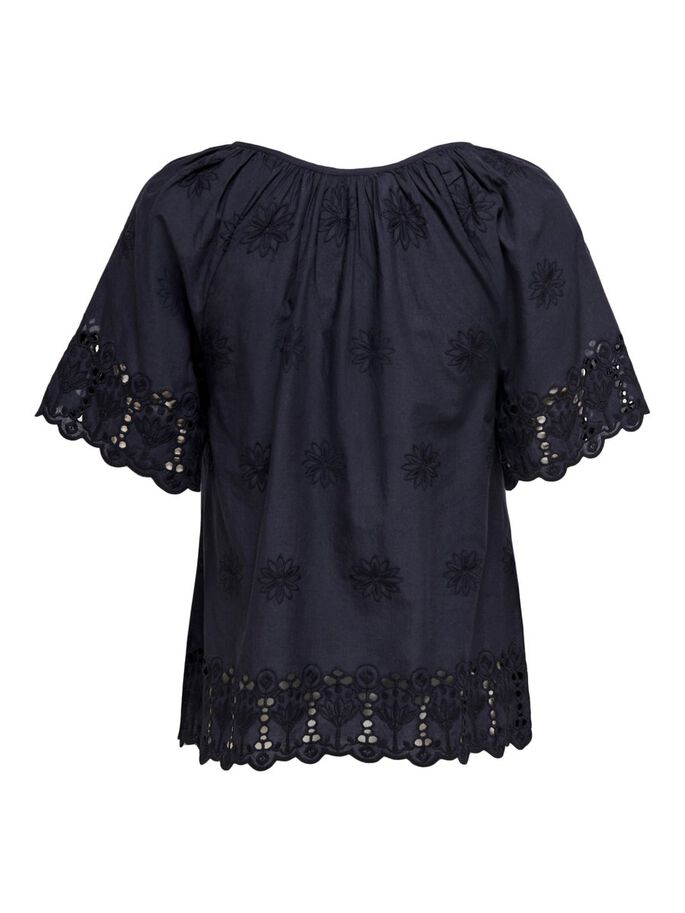 EMBROIDERY TOP, Night Sky, large