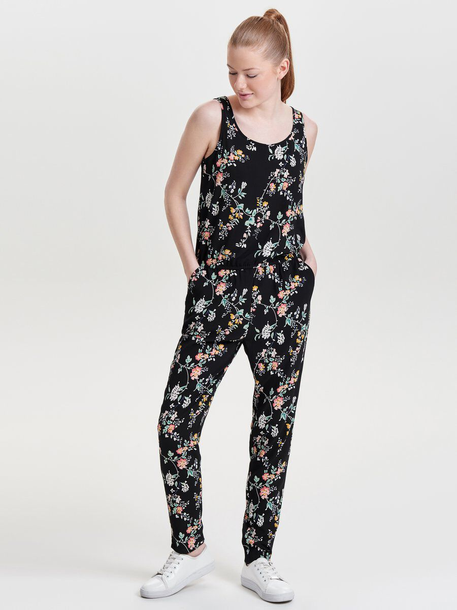 PRINTED JUMPSUIT, Total Eclipse, large
