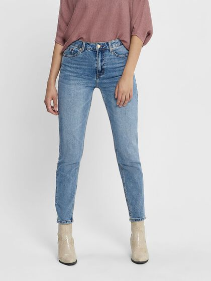 TALL ONLEMILY ANKLE HIGH WAISTED JEANS