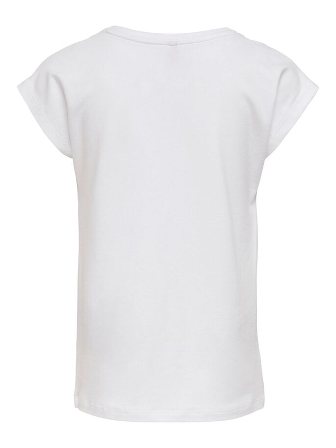 HEART PRINTED TOP, Bright White, large
