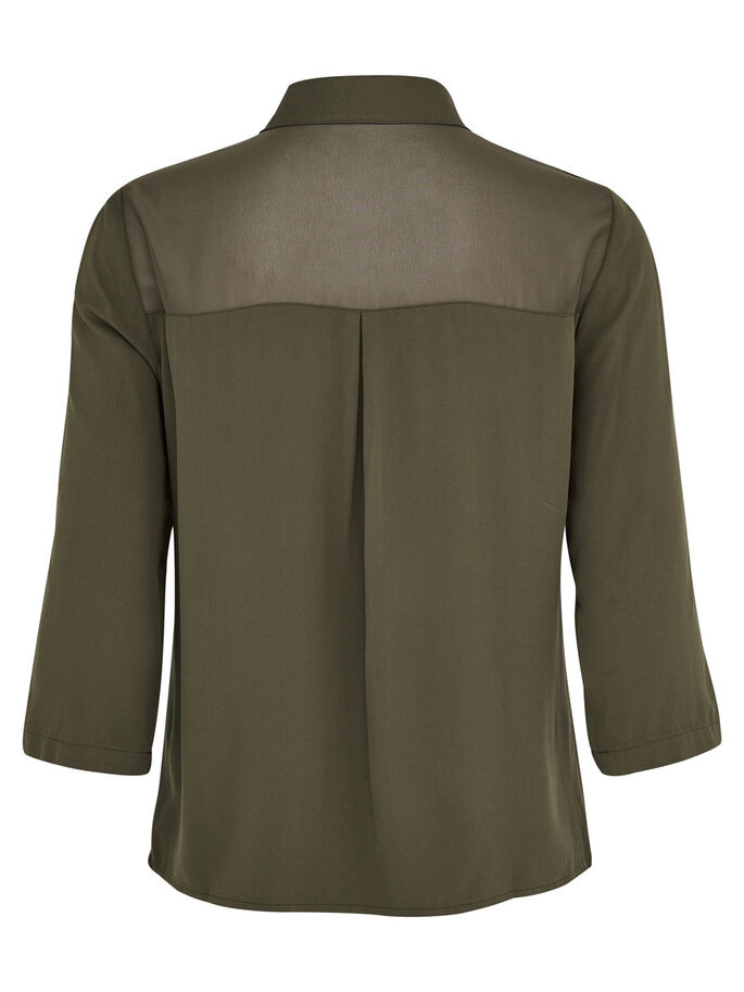 AVEC FINITIONS CHEMISE MANCHES 3/4, Tarmac, large