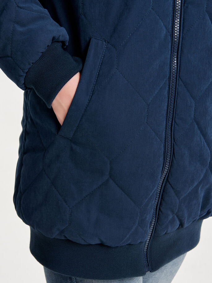QUILTED COAT, Sky Captain, large