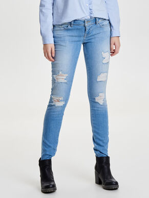 CORAL SUPERLÅGA SKINNY FIT-JEANS