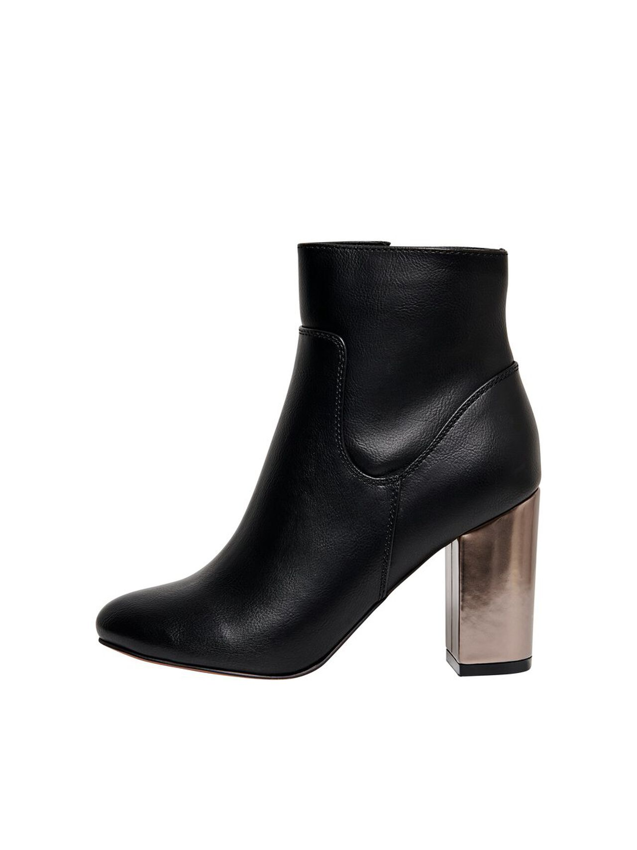 ONLY Solid Boots Women Black
