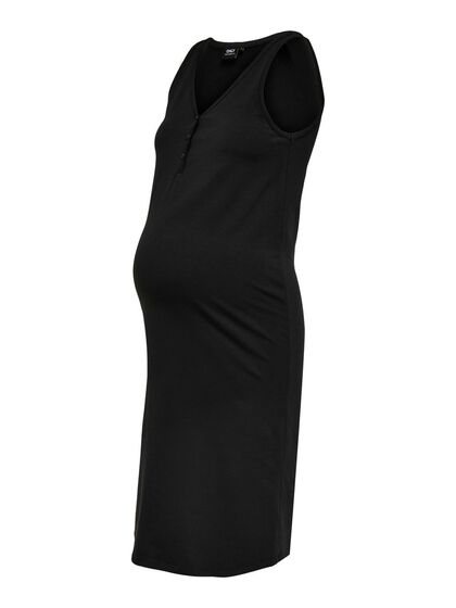 MAMA SOLID COLORED DRESS