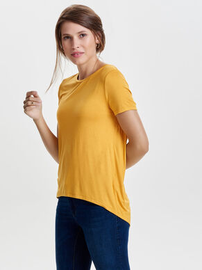 LONG SHORT SLEEVED TOP