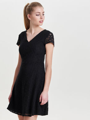 SHORT SLEEVED DRESS