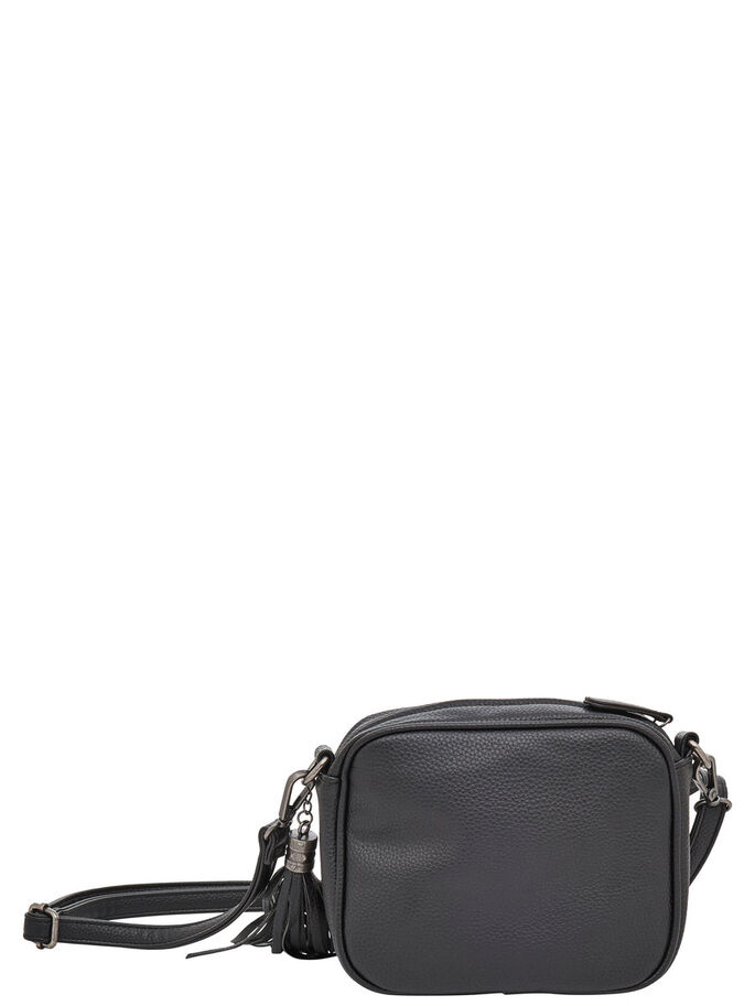SHINY CROSSBODY BAG, Black, large