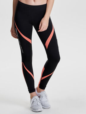 CONTRAST RUNNING TIGHTS