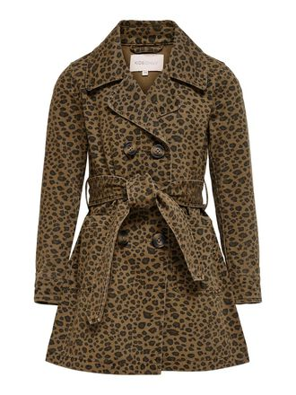 PRINTED TRENCHCOAT