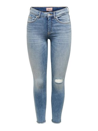 ONLBLUSH MID ANKLE PIPE SKINNY JEANS
