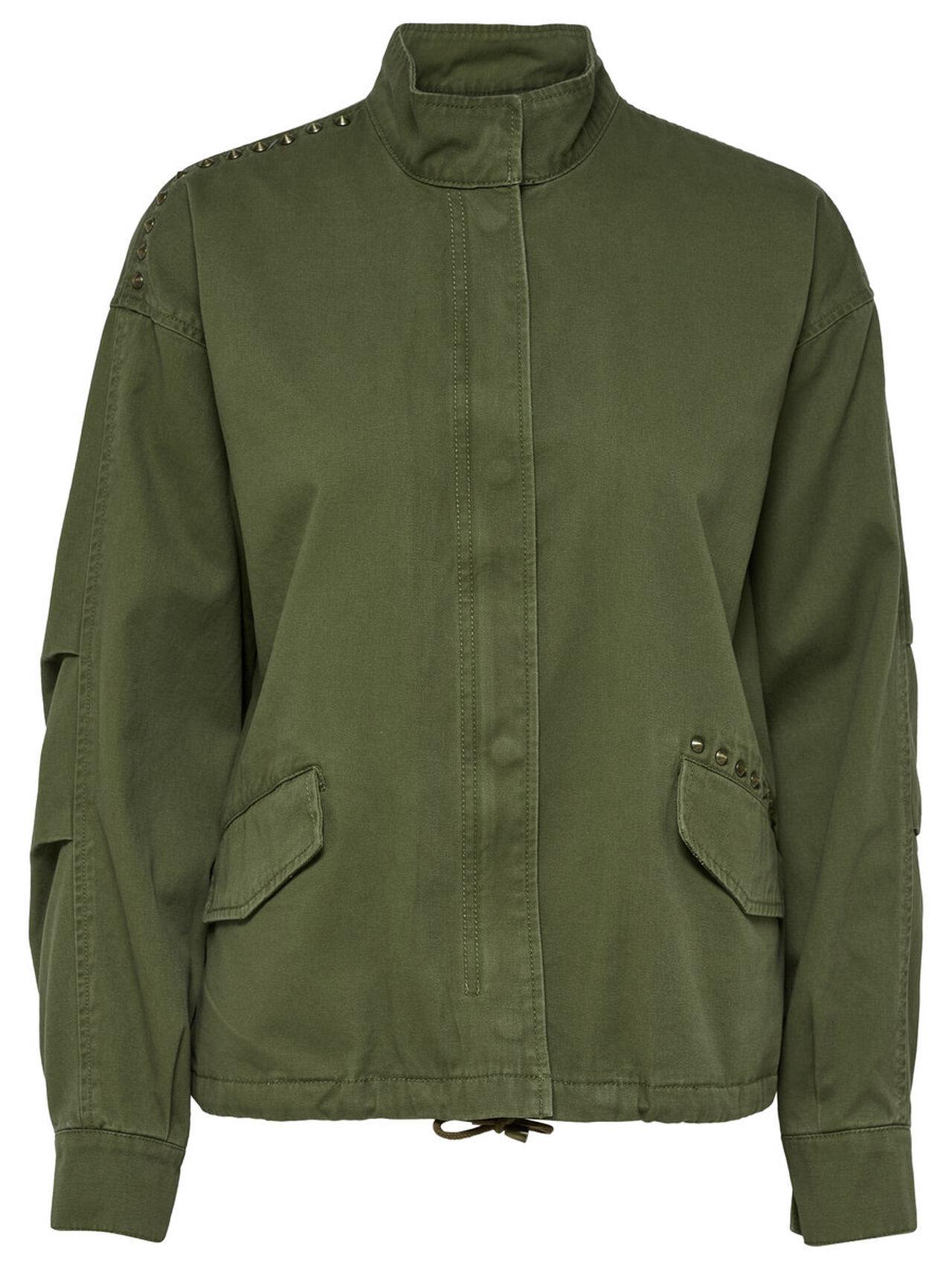 ONLY Canvas Jacket Women Green