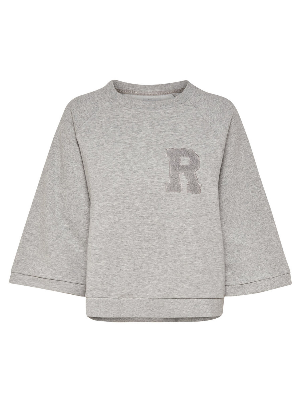 ONLY Sweat 3/4 Sleeved Top Women Grey