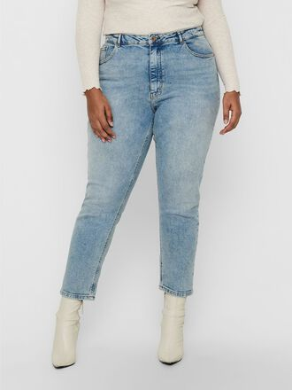 CURVY CARENEDA HW ANKLE MOM JEANS