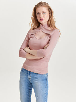 WRAP 3/4 SLEEVED TOP