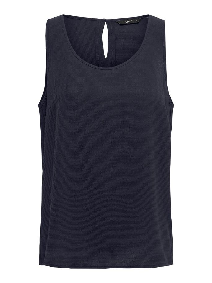 SOLID COLORED TOP, Night Sky, large
