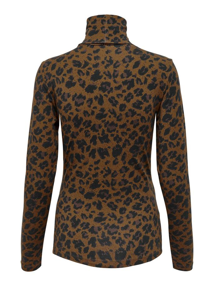 MAMA LEO LONG SLEEVED TOP, Toffee, large