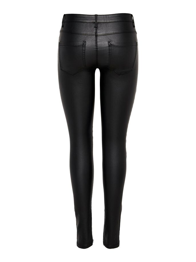 NEW ROYAL BELAGDA BIKERINSPIRERADE SKINNY FIT-JEANS, Black, large