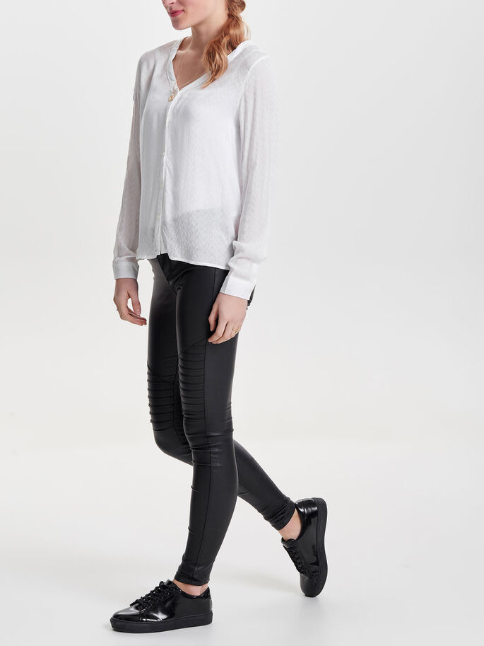 DETAILED LONG SLEEVED TOP, Cloud Dancer, large