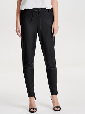POPTRASH COATED TROUSERS