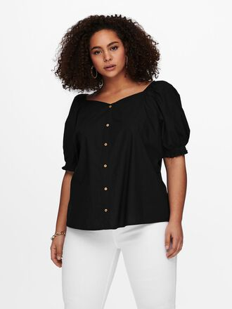 CURVY PUFF SLEEVE TOP