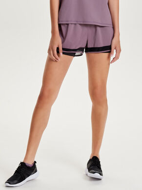 CONTRAST SPORTS SHORTS