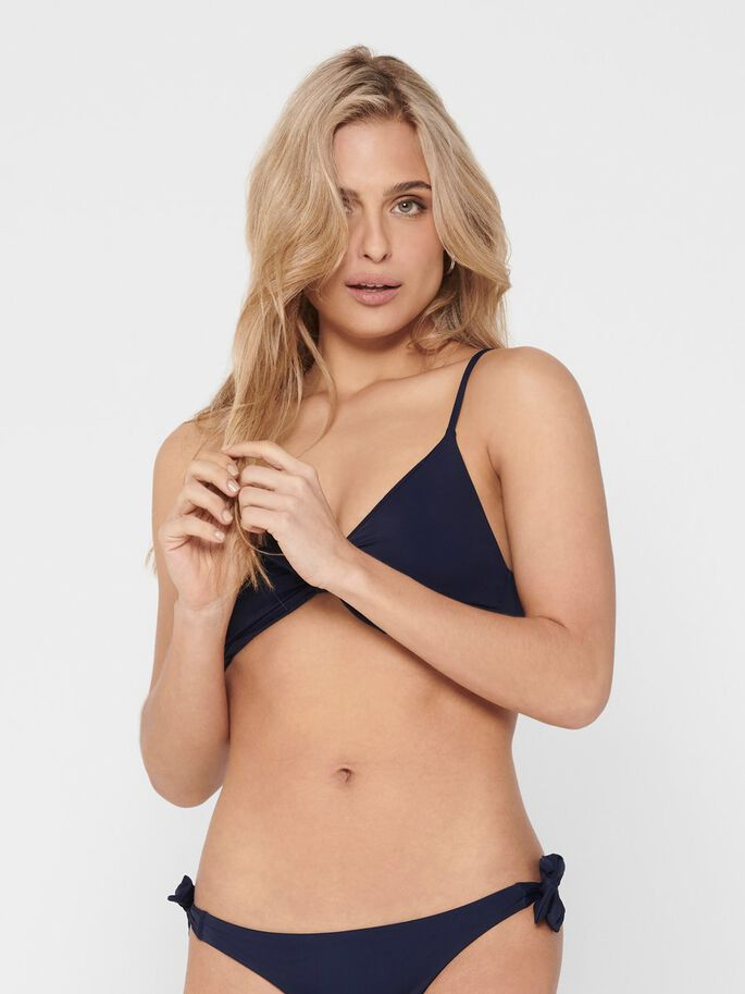 TRIANGLE BIKINI, Peacoat, large