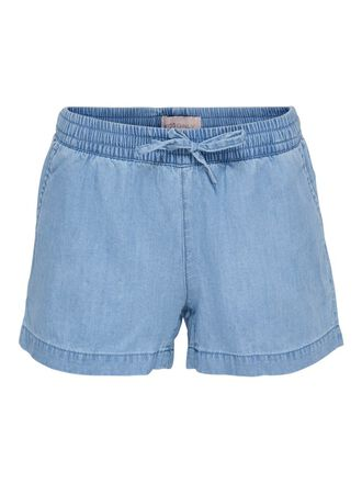 DRAW STRING DENIM SHORTS