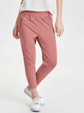 POPTRASH ANKLE ZIP TROUSERS