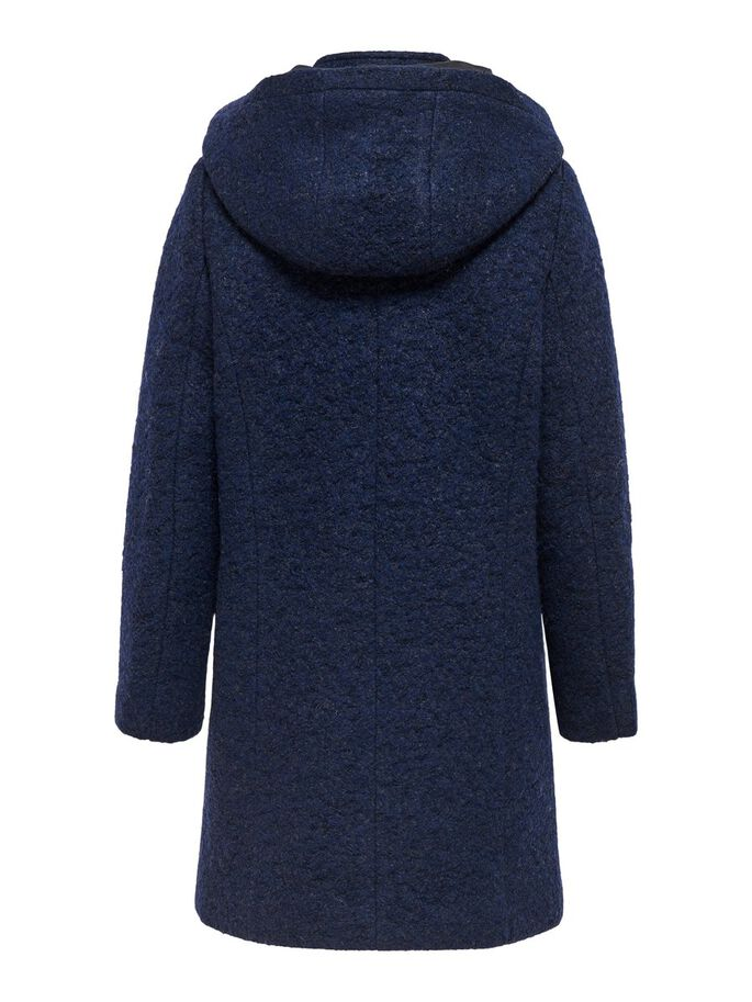 WOOL COAT, Night Sky, large